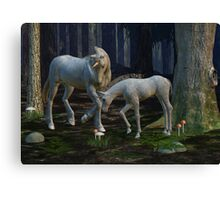 Realm of the Unicorn Canvas Print