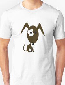 Brown Dog Unisex T-Shirt