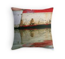 Abstract reflection II Throw Pillow