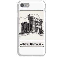 He-Man - Castle Grayskull - Trading Card Design iPhone Case/Skin