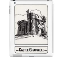 He-Man - Castle Grayskull - Trading Card Design iPad Case/Skin