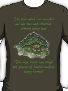 The Legend of Korra Lion Turle With Quote T-Shirt