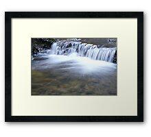 Wildcat Fall Creek Framed Print