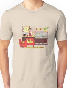 The Littlest Barista Unisex T-Shirt