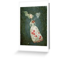 I heart tea Greeting Card