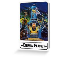 He-Man - Eternia Playset - Trading Card Design Greeting Card