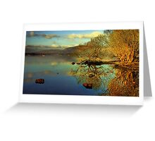 Loch Lomond HDR Greeting Card