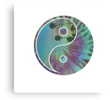 Yin and Yang Ocean Canvas Print
