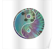 Yin and Yang Ocean Poster