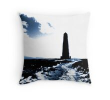 Captain Cook's Monument Throw Pillow