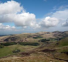 Pentland Hills from the Ridge by Andrew Ness - www.nessphotography.com
