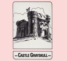 He-Man - Castle Grayskull - Trading Card Design One Piece - Short Sleeve