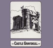 He-Man - Castle Grayskull - Trading Card Design Kids Tee