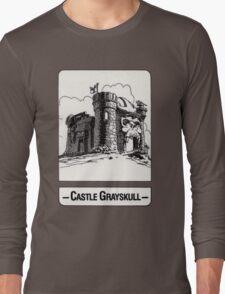 He-Man - Castle Grayskull - Trading Card Design Long Sleeve T-Shirt
