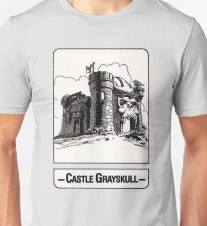 He-Man - Castle Grayskull - Trading Card Design Unisex T-Shirt