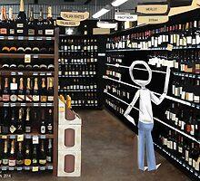 Corky @ the Supermarket by Nornberg77