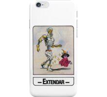 He-Man - Extendar - Trading Card Design iPhone Case/Skin