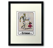 He-Man - Extendar - Trading Card Design Framed Print