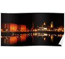 Liverpool Albert Dock Poster