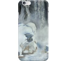 "Robin Webster's Snow Scene... ""Niagara Falls Ontario, Canada."" iPhone Case/Skin"