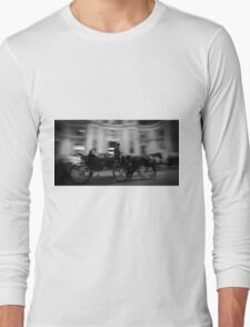 Horse and Carriage in Vienna, Austria Long Sleeve T-Shirt