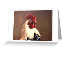 Rooster - Portrait Greeting Card