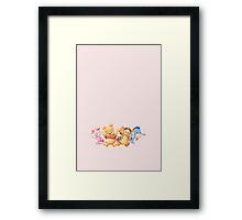 Winnie and friends Framed Print