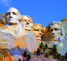 Mount Rushmore by Vicky Brago-Mitchell
