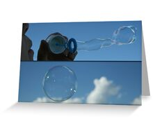 Blowing Bubbles... Free State, South Africa Greeting Card