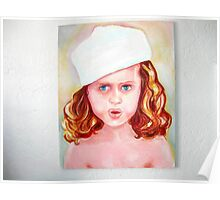 girl with a Hat Poster