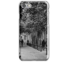 Barcelona - Urban scene iPhone Case/Skin