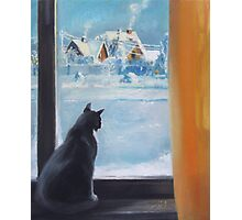 Winter afternoon Photographic Print