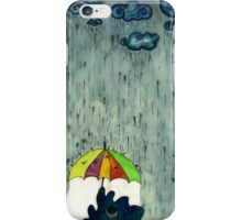 Oh! Raining Night iPhone Case/Skin