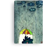 Oh! Raining Night Canvas Print