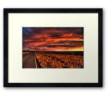 A Slowdown For A Sunrise Framed Print