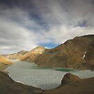 Lake Yamdrok-Tso, Tibet by Hugh Chaffey-Millar