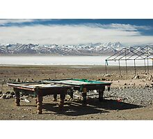 Pool at Lake Nam-Tso, Tibet Photographic Print