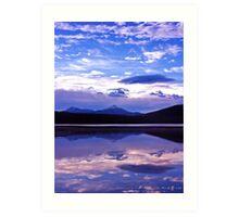 Sunrise on Lake Dillon Art Print