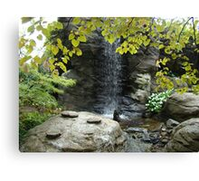 Stone Waterfall Canvas Print