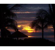 Turks & Caicos Sunset Photographic Print