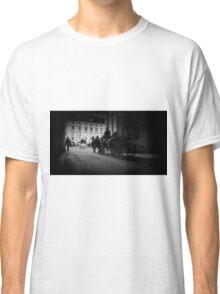 Horse-drawn carriage in Vienna, Austria Classic T-Shirt