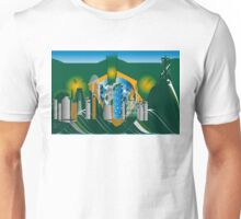 abstract Rio skyline Unisex T-Shirt