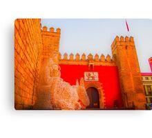 Sevilla at Christmas Canvas Print