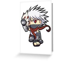 Kakashi chibi Greeting Card