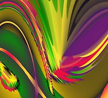 Abstract Rainbow by lydiasart