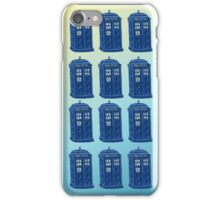 Tardis Repeated iPhone Case/Skin