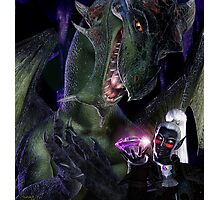 The Corruption of the Dragons Photographic Print
