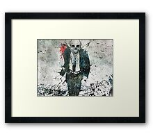 Remorse Is for the Dead Framed Print