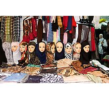 Last fashion: Arab head  Photographic Print