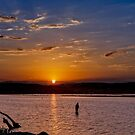 People tell me fishing is life... by Anthony Cook
